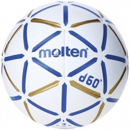 Házenkářský míč MOLTEN H3D4000-BW (D60)