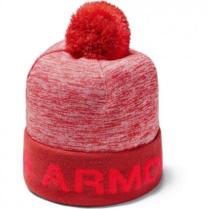 Zimní čepice Under Armour Boy's Gametime Pom Beanie