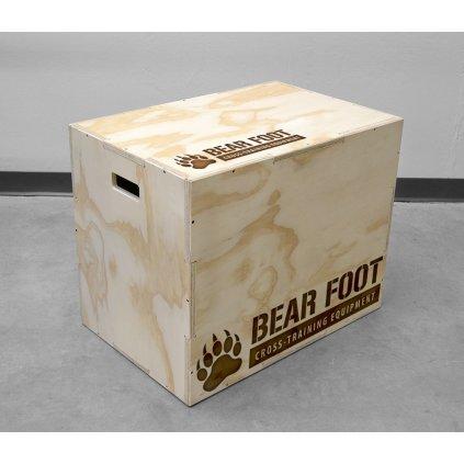 BearFoot Plyometrická bedýnka, 75x60x50cm
