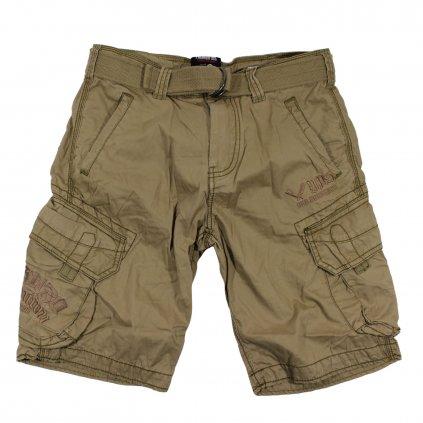 Pánské kraťasy Yakuza Premium Cargo Shorts, kraťasy YP 2450, béžové, 3XL