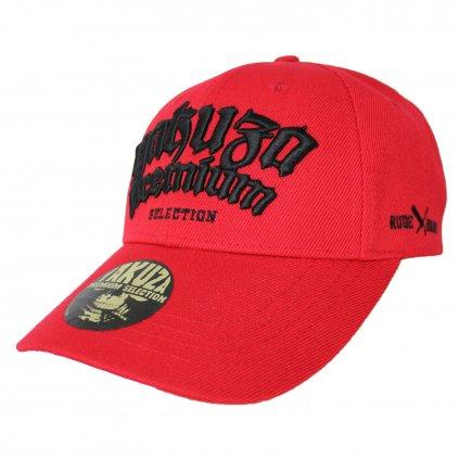 Kšiltovka Yakuza Premium Cap, kšiltovka 2581, červená