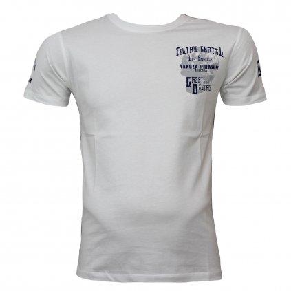Pánské triko Yakuza Premium T-Shirt Filthy Cartel, tričko YPS 2606, bílá, 2XL
