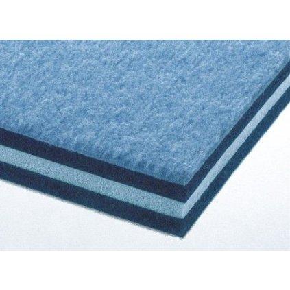 Katalog 2016 Gymnastický koberec Triflex - 14x14m, 35 mm - modrá