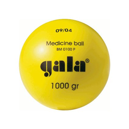 Katalog 2016 Medicinální míč plastový (PVC) hmotnost 3,0kg