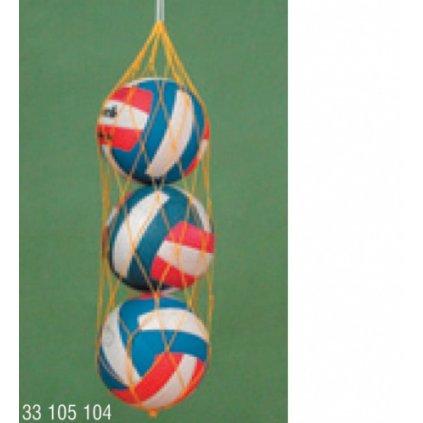 Katalog 2016 Sítě na míče 3 ks, síla 2mm PP, barevná