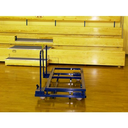Pojízdný vozík ke skládacím tribunám - pro maximální mobilitu
