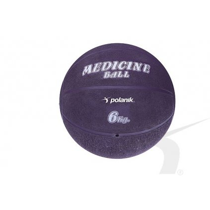 Polanik Medicinbal gumový - hmotnost 6kg PLG-6