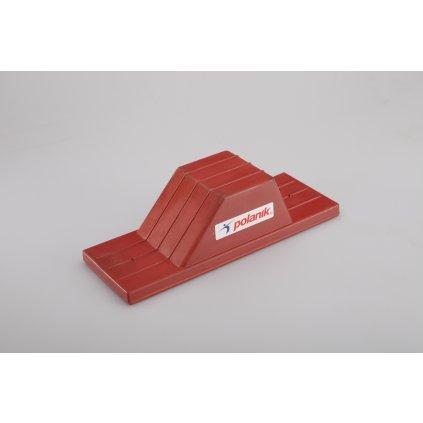Polanik Startovní blok školní gumový - vnitřní použití BS-R