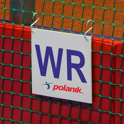 Polanik Značka pro označení světového rekordu - pro vrhy koulí WR-S292