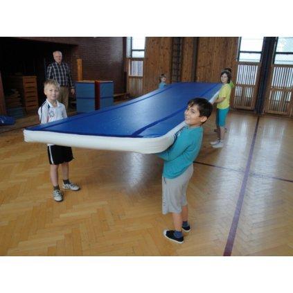 Rinogym Školní set RinoGym® - nafukovací pás délka 6m, šířka 1,4m