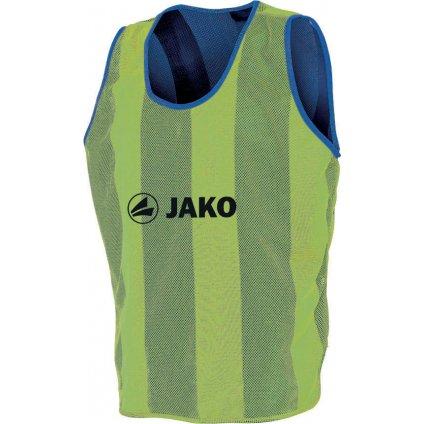 Rozlišovací dres oboustranný senior -barva svítivě žlutá/modrá