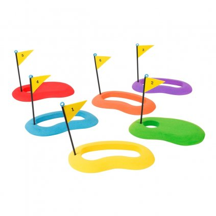 Sada 6ti golfových cílů