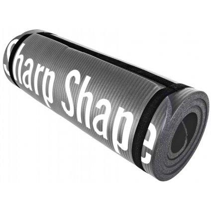 Sharp Shape Podložka s protiskluzovým povrchem - barva černá