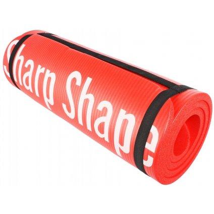 Sharp Shape Podložka s protiskluzovým povrchem - barva červená