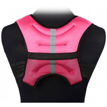 Sharp Shape Zátěžová vesta - barva růžová