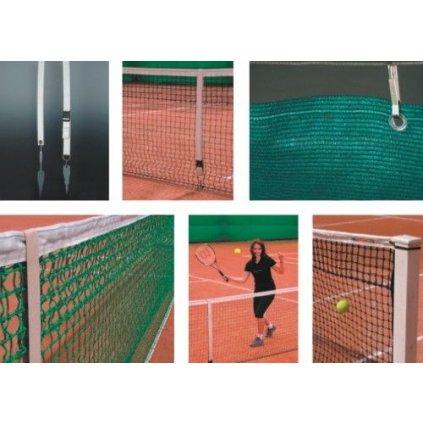 Tenisové sítě - doplňky- wimbledon s napínákem - PES
