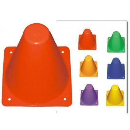 Vymezovací kužely plné - výška 15 cm - hmotnost 65 g