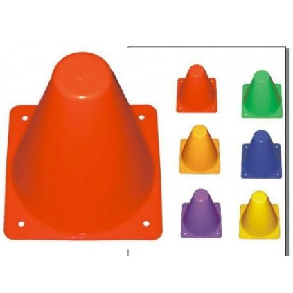 Vymezovací kužely plné - výška 30 cm - hmotnost 165 g