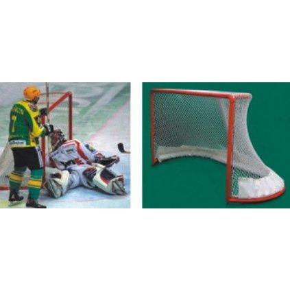 Záclonka pro hokejovou branku - barva bílá