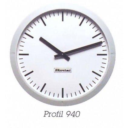 Školní hodiny PROFIL 940 - Průměr 40cm - bateriové - synchronizace