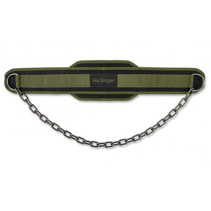 Harbinger opasek s řetězem nylonový 289, zelený