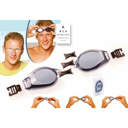 Plavecké brýle dioptrické - SET