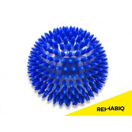 Rehabiq Masážní míček ježek, 10 cm, modrý