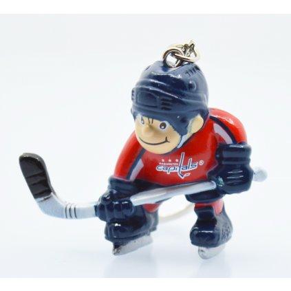 Přívěšek na klíče JFSC NHL Player Keychain
