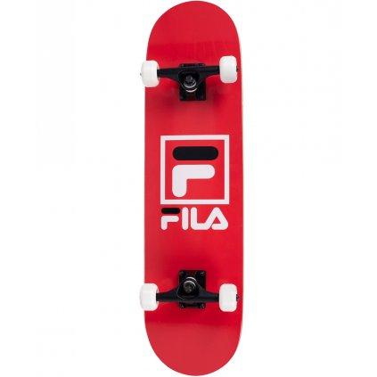 "Skateboard Fila Red 31x8"""