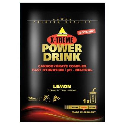 Inkospor Energetický nápoj - příchuť citrón