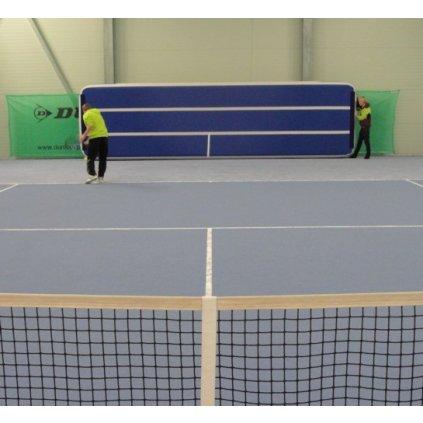 Katalog 2016 Mobilní tenisová stěna - nafukovací žíněnka - rozměry 8 x 1,8 x 0,15 m