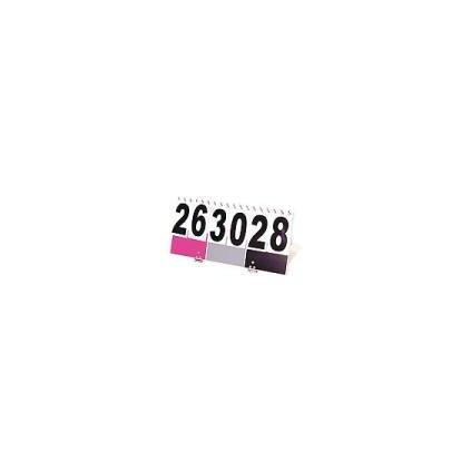 Oficiální přenosný ukazatel skóre - barva růžová, černá,šedá