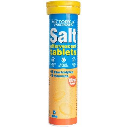 Weider Salt Effervescent 15 Tablets, šumivé tablety s vitamíny a minerály, Citrus
