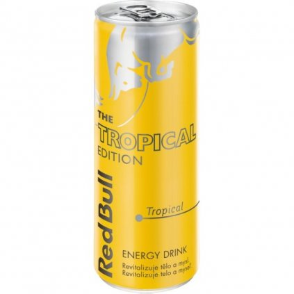 Red Bull energy drink, 250 ml, Tropical Edition, Tropical