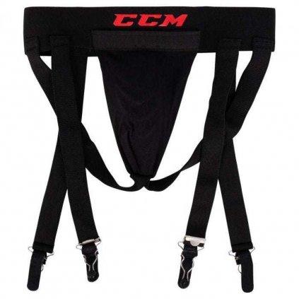 Hokejový suspenzor s podvazky CCM 3v1 Jock Combo