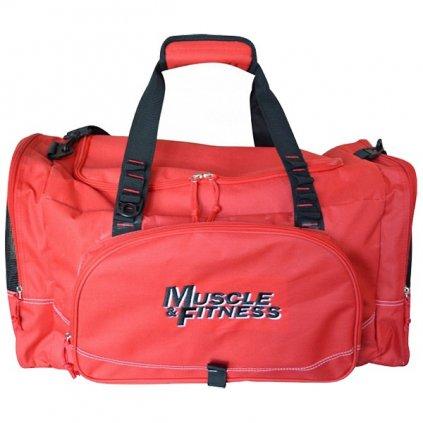 Sportovní taška Muscle&Fitness, červená