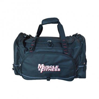 Sportovní taška Muscle&Fitness, černá