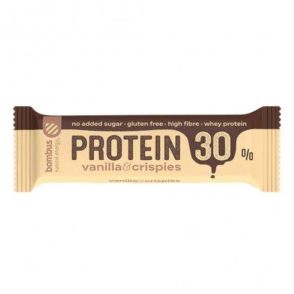 Bombus Protein 30% 50 g, dvouvrstvé tyčinky s vysokým obsahem bílkovin, Cocoa Coconut
