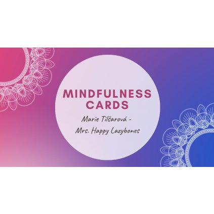 Kopie navrhu Kopie navrhu Kopie navrhu Pink Gradients Mandala Yoga Business Card