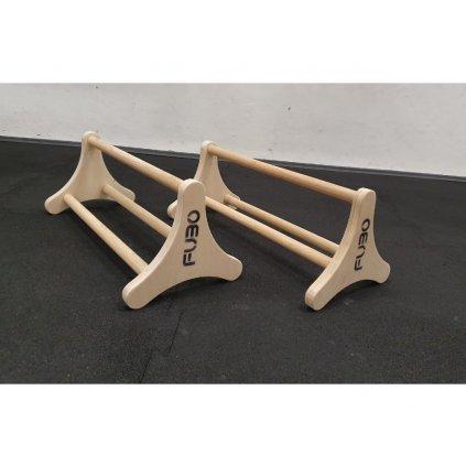 Gymnastické stálky dřevěné otočné TRIANGL