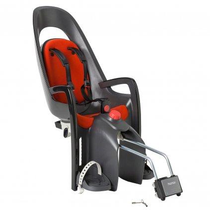 Samonosná sedačka Hamax Caress, Tmavě šedá/Červená