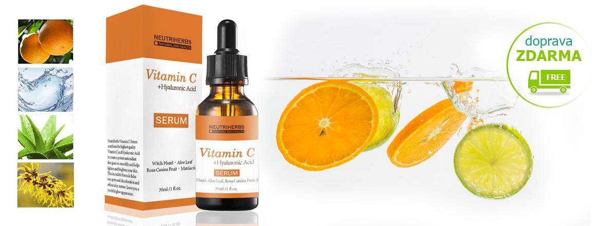 Sérum - kyselina hyaluronová a vitamin C