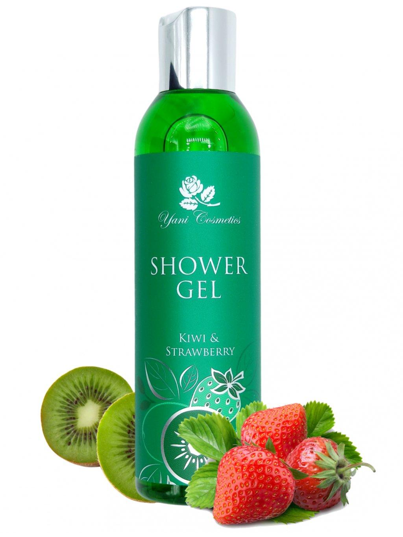 Sprchový gel extra voňavý - Kiwi a Jahoda 200 ml