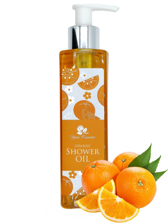 Sprchový olej s bohatou pěnou - Pomeranč 200 ml - Minimální spotřeba 8/2021