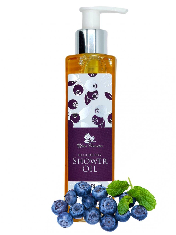Sprchový olej s bohatou pěnou - Borůvka 200 ml
