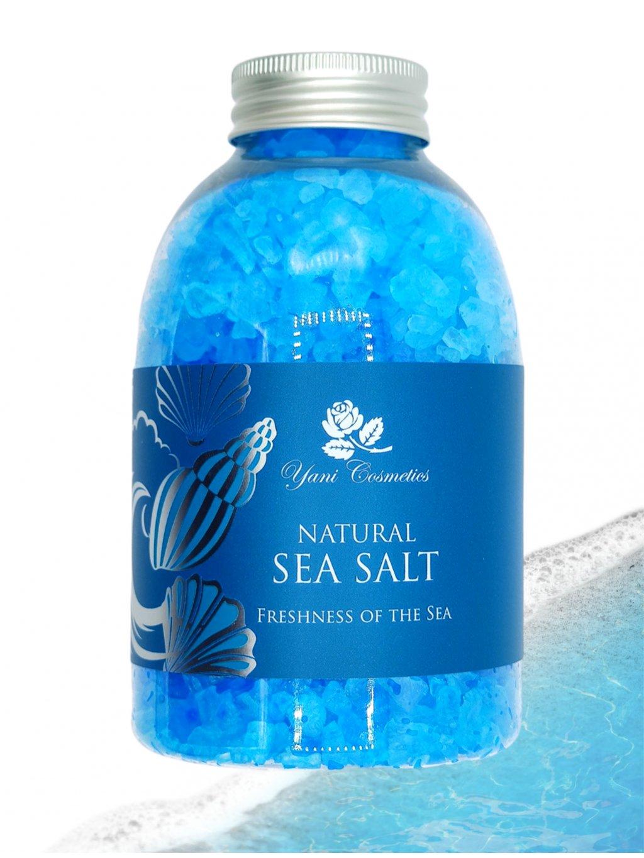 Přírodní mořská sůl do koupele - Vůně moře 500g