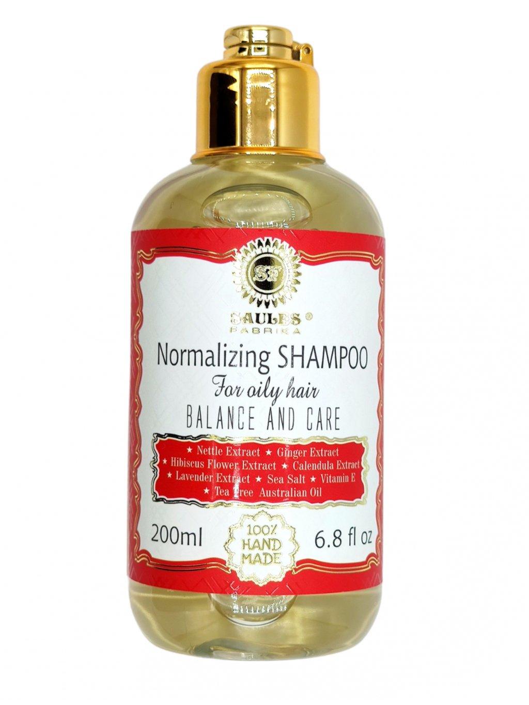 Šampon normalizujíci pro mastné vlasy 200 ml