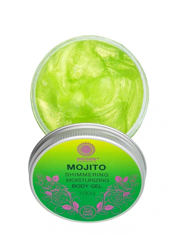 Hydratační telový gel - Mojito 100g