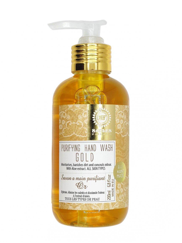 Tekuté mýdlo - Zlato 200 ml