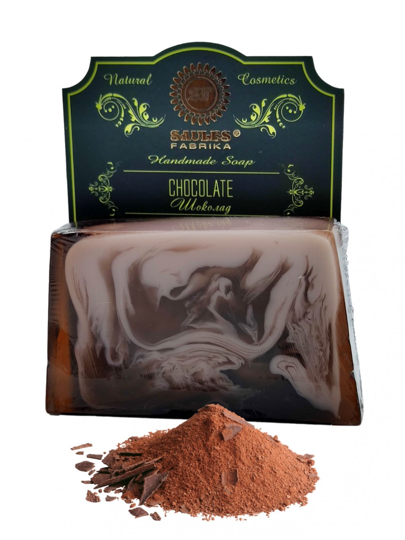 Tuhé mýdlo - Čokoláda 80g